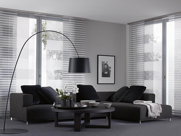 fl chenvorh nge lamellen. Black Bedroom Furniture Sets. Home Design Ideas